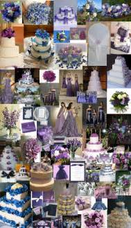 purple and blue wedding purple blue