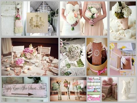 shabby chic wedding conceptwed
