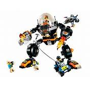 Lego Agents 20 Robo Attack Comes With A City Destroying