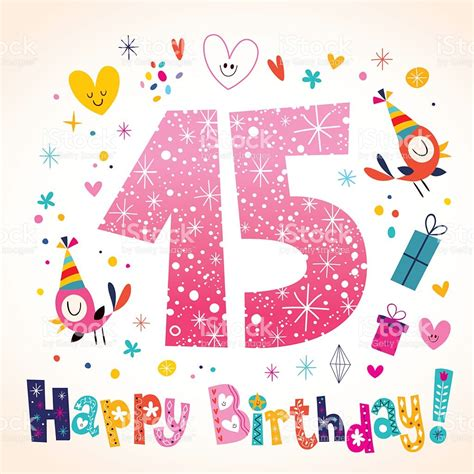 imagenes feliz quince años feliz cumplea 241 os 15 a 241 os los ni 241 os tarjeta de felicitaci 243 n