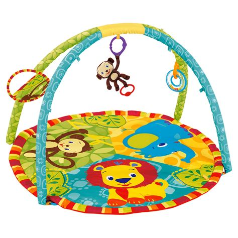 Bright Starts Jungle Play Mat by Consoles And Toys Tesco Brights Jungle Baby