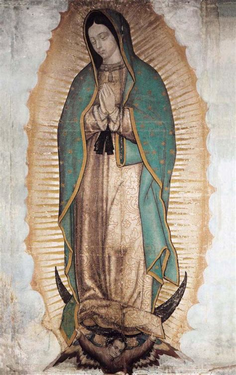 Imagenes De La Virgen De Guadalupe Con Un Mensaje | descripci 211 n de la imagen de la virgen de guadalupe ecce