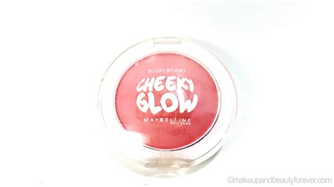 Maybelline Cheeky Glow maybelline cheeky glow blush peachy sweetie review