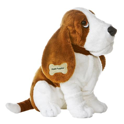 what are hush puppies made of world hush 15403 puppies 18in toys stuffed animals plush