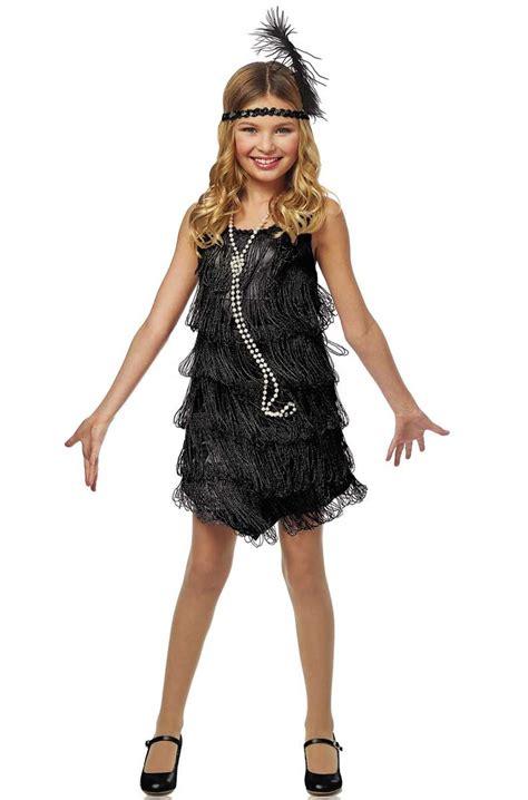 womens rag time flapper black costume wholesale 20s 20 s black flapper girls costume flapper dress 1920 s