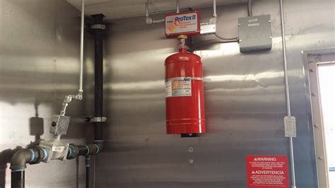 Kitchen Suppression System Inspection Ansul Kitchen Restaurant Suppression System