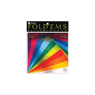 Origami Paper Edmonton - yasutomo yasutomo metallic origami paper assorted colours