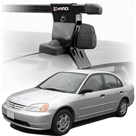 2004 Honda Civic Roof Rack by 2004 Civic Sedan Roof Rack Complete System Inno Rack With Locks Cargogear
