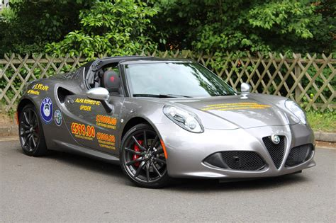 Alfa Romeo Used by Used 2017 Alfa Romeo 4c For Sale In Surrey Pistonheads