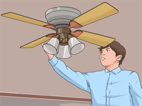 How To Repair A Ceiling Fan by How To Fix A Squeaking Ceiling Fan 8 Steps With Pictures
