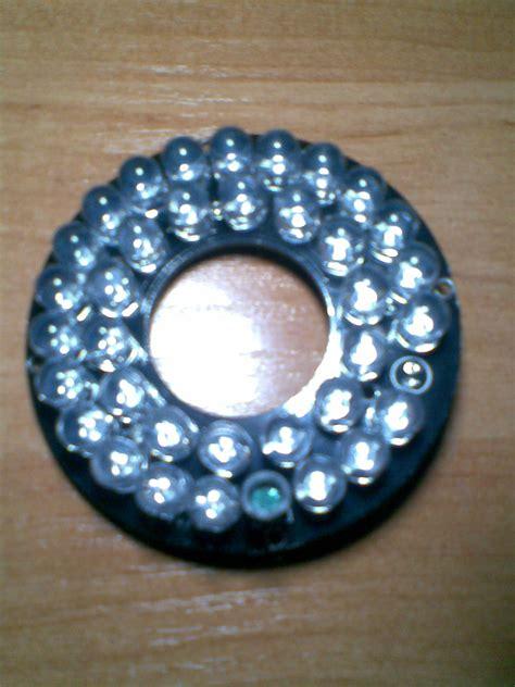 dioda ir jak działa sprawdzenie diody ir z kamery zewnętrznej elektroda pl