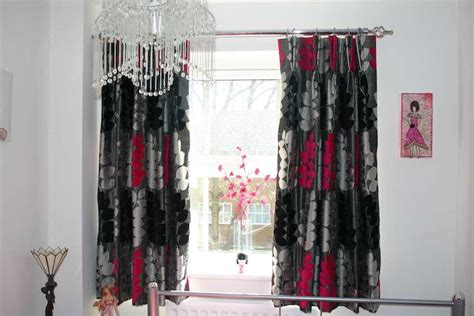 red black and gray curtains red black and gray curtains cool red and black curtains