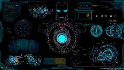 iron man jarvis wallpapers high definition desktop