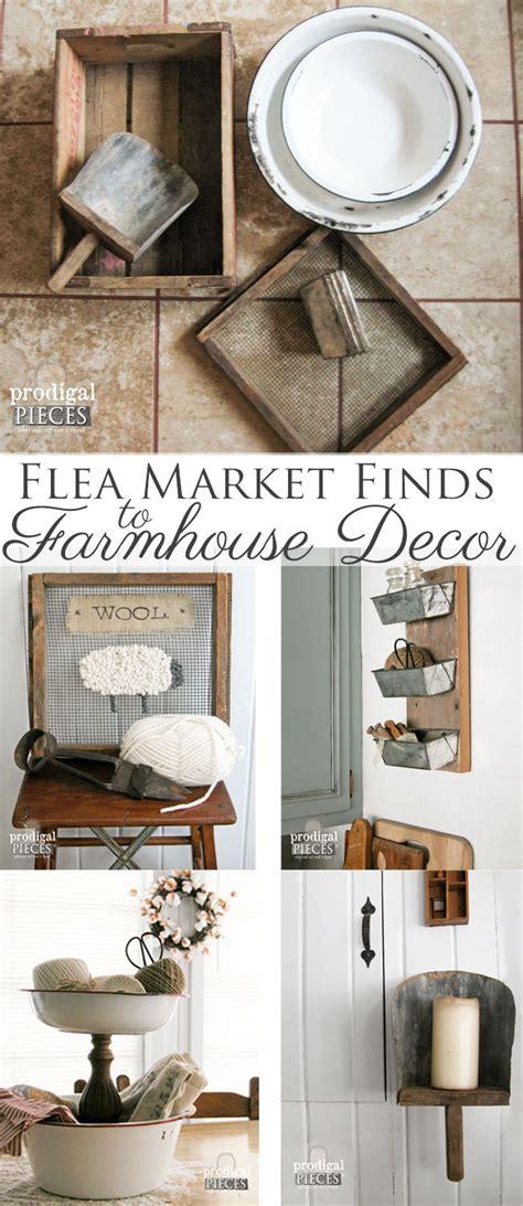 repurposed home decor farmhouse decor from repurposed flea market finds