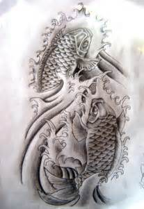 japanese koi fish tattoo design tattoobite com