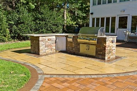 Backyard Kitchen Design by Outdoor Kitchen Centerport Ny Photo Gallery