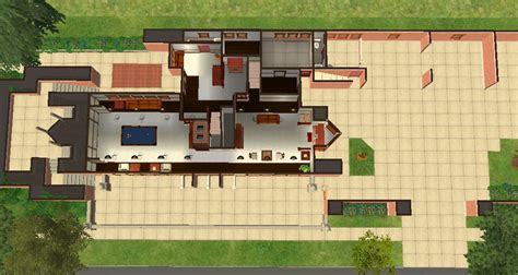 Robie House Floor Plan by Frank Lloyd Wright Robie House Floor Plan