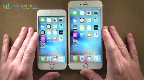 iphone 6s und 6s plus apples kleines update ist ein gro 223 er funktions sprung