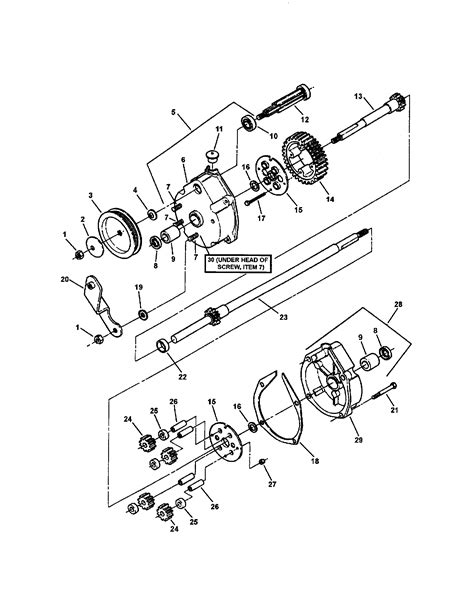 snapper mower parts diagram transmission differential diagram parts list for model