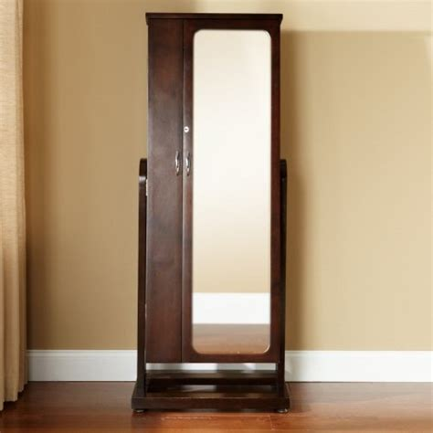 standing jewelry armoire with mirror 1000 images about standing mirror jewelry armoire on