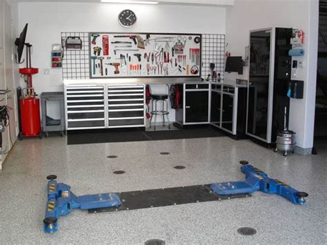 layout of workshop for mechanics modern garage interior design ideas garage interior