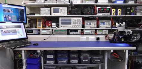 electronic work benches electronics workbench layout setup google search lab