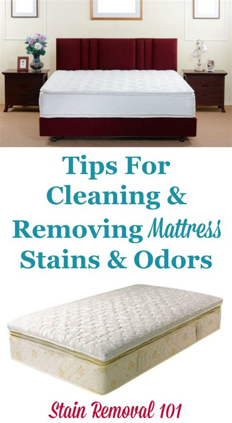 How To Clean Stains From A Mattress by Tips For Cleaning Removing Mattress Stains Odors