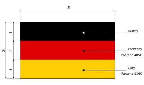colors of german flag plik flaga niemiec wymiary svg wolna
