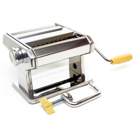 "Hand operated Pasta Maker  7"" Dough Maker / Fresh Noodle Maker  Stainless Steel"