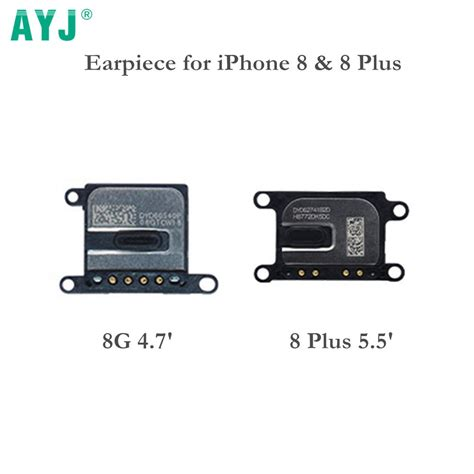 ayj 100 new earpiece speaker for iphone 8 4 7 ear speaker replacement for iphone 8 plus 8plus