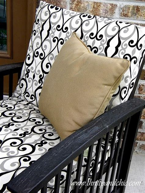 Recover Cushions by How To Recover Your Outdoor Seat Cushions For Cheap Gonna