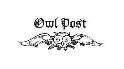 printable owl post harry potter owl post rubber st