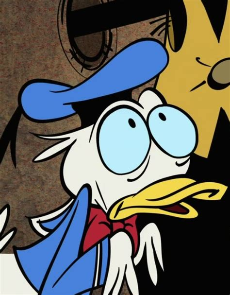 donald duck reaction images know your meme