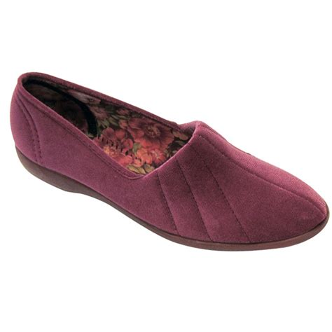 house shoes womens gbs slippers audrey womens slippers online from palmers
