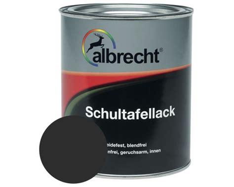 tafelfarbe untergrund albrecht schultafellack tafelfarbe schwarz 750 ml bei