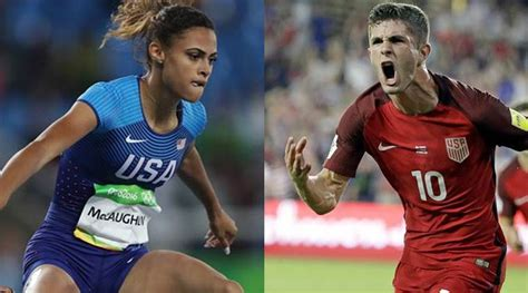 christian pulisic family christian pulisic sydney mclaughlin named in time s 30
