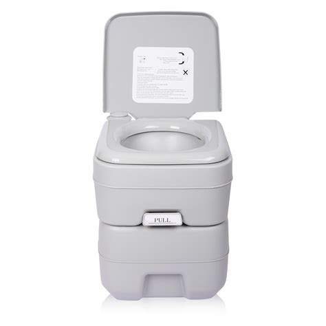 indoor portable toilet 5 gallon 20l portable toilet flush travel outdoor cing