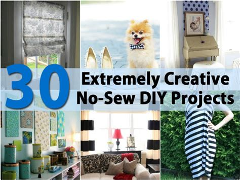 no sew craft projects 30 extremely creative no sew diy projects diy crafts