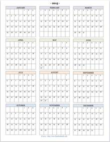 year at a glance calendar template 2015 year at a glance new calendar template site