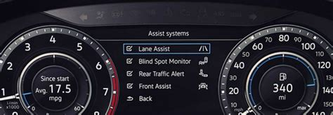volkswagen dashboard warning lights