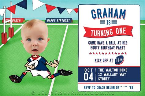 printable rugby birthday invitations rugby birthday invitations that you can customise and print