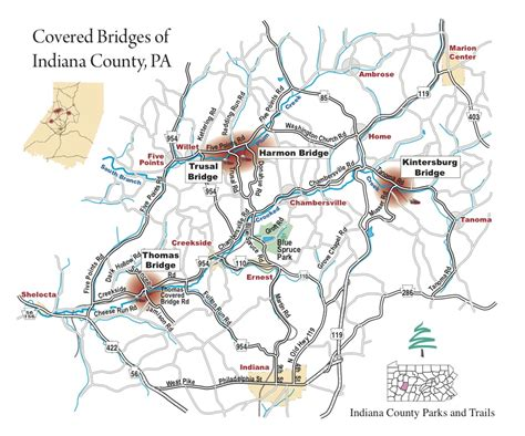covered bridges in map indiana of pennsylvania cycling team summer is