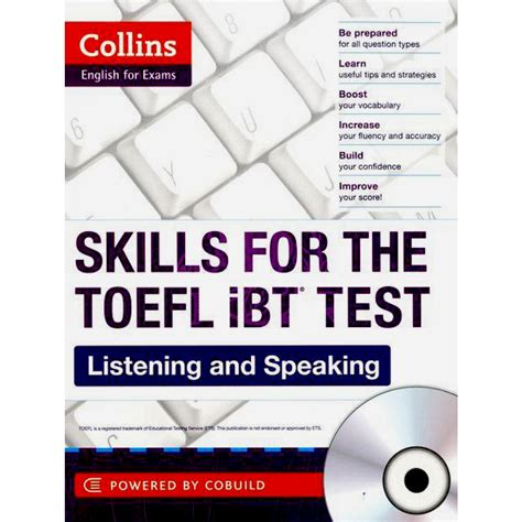 speaking and writing strategies for the toefl ibt books skills for the toefl ibt test listening and speaking