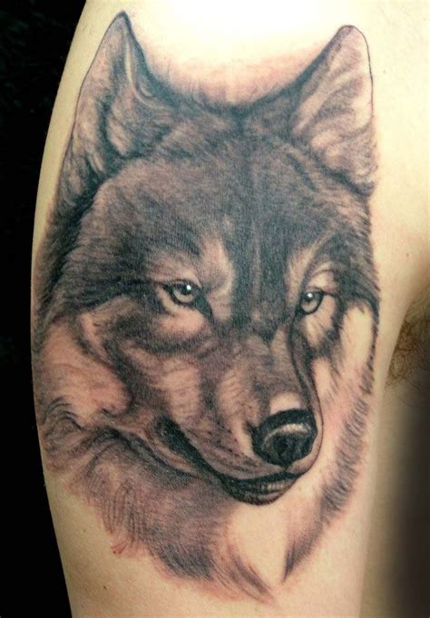 wolf tattoo wolf by lorenzo evil machines roma italia ink