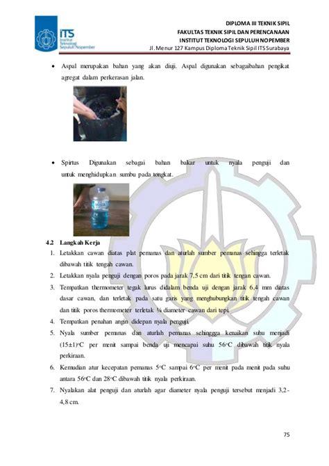 Termometer Aspal laporan praktikum perkerasan jalan