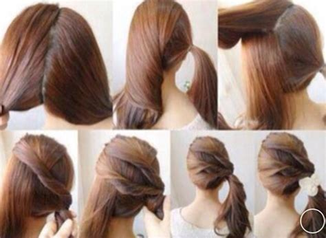 very easy and beautiful hairstyles beautiful and easy hair style step by step hair styles