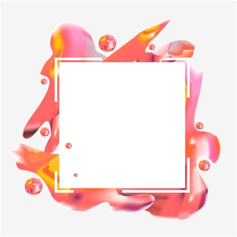 abstract colorful frame border simple border simple