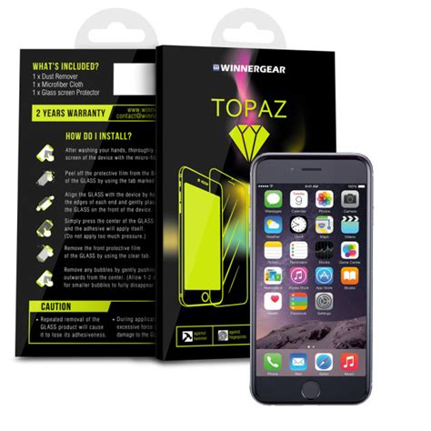 Screen Topaz review topaz curved glass iphone screen protector