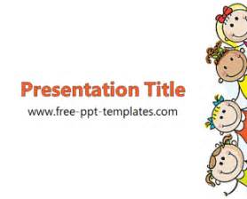 powerpoint template children ppt template free powerpoint templates