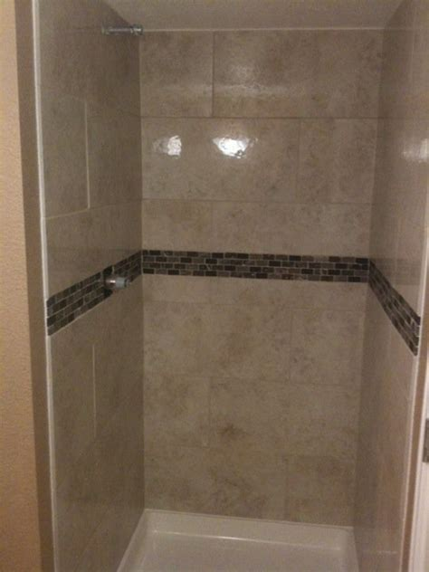 12x24 tile shower small 36x36 shower decided to use 12x24 tile shower